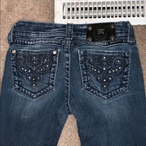Miss me jeans, boot cut, size 26